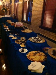 Dessert Buffet at St. Francis Hall