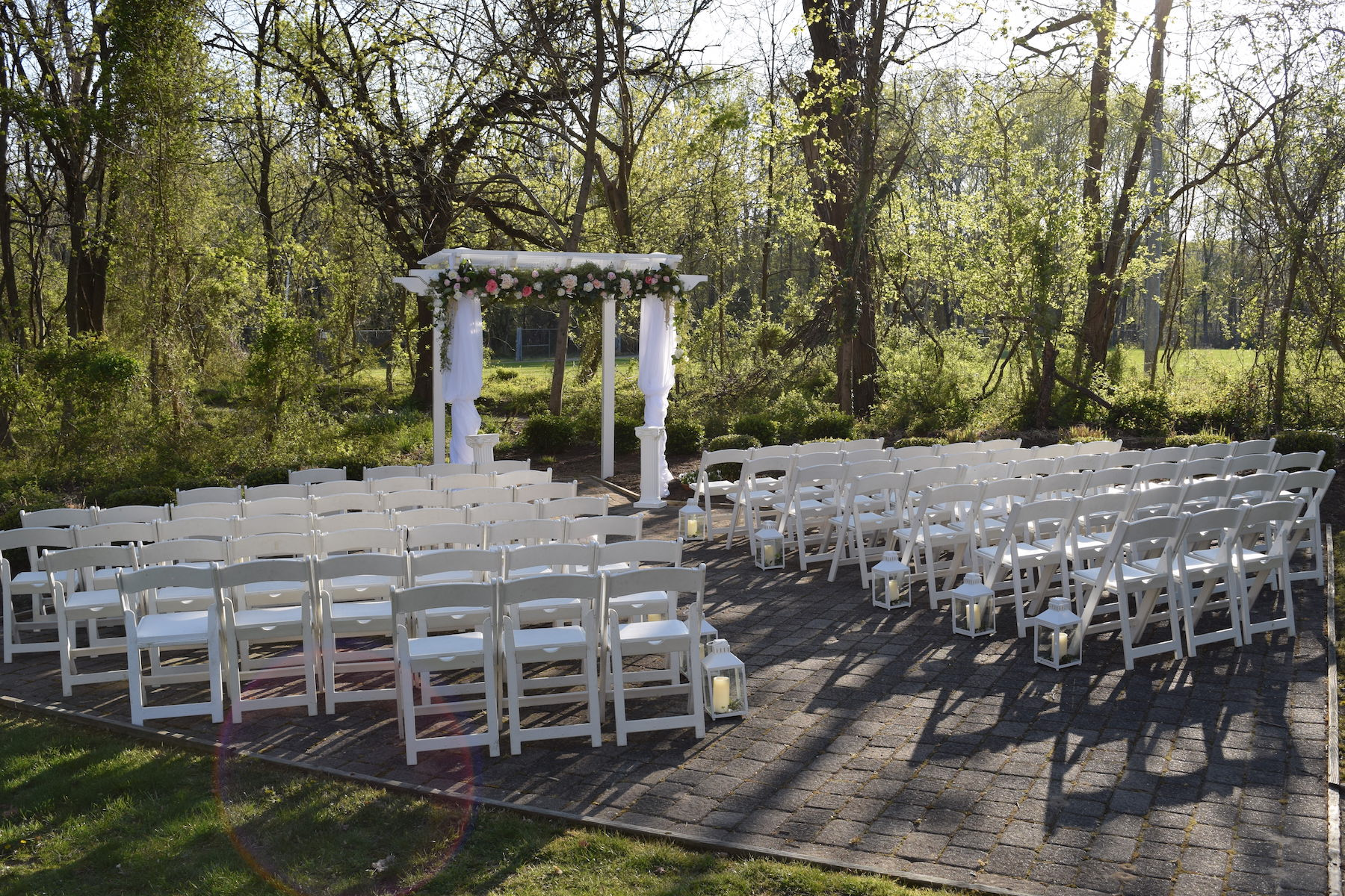 On April 15th 2016 Porsche Ronnie Joined Hands In Marriage At Our Historic Savage Mill Manor Located Maryland The Ceremony Was Held Outside