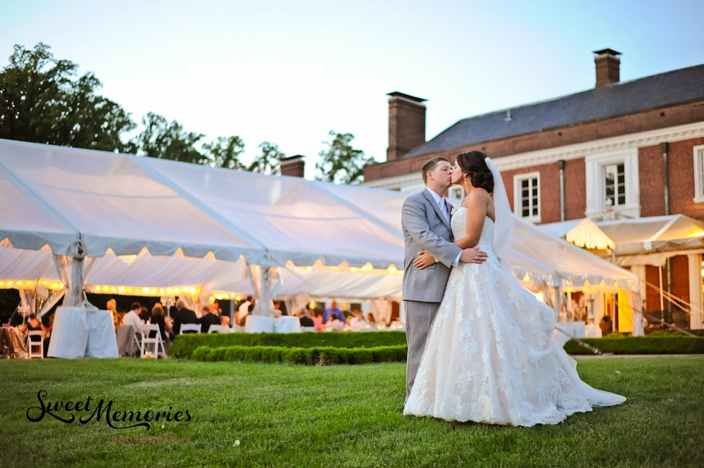 Oxon Hill Manor Wedding Maryland Outdoor Ceremony Reception